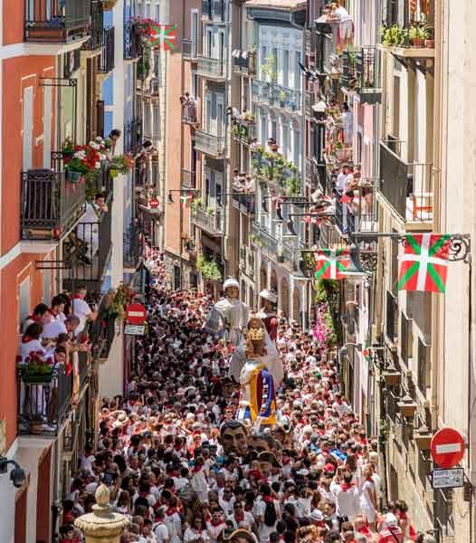 San Fermín Pamplona Navarra